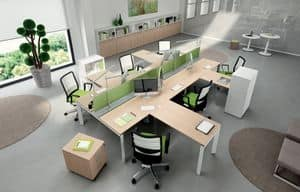 Picture of ENTITY 3, office furniture composition