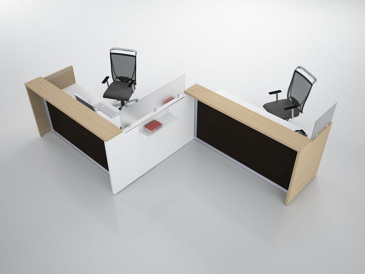 HOME P07 Office Products Tables Office tables Modern Reception