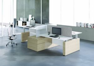 tables office tables idfdesign bridge reception counter office line