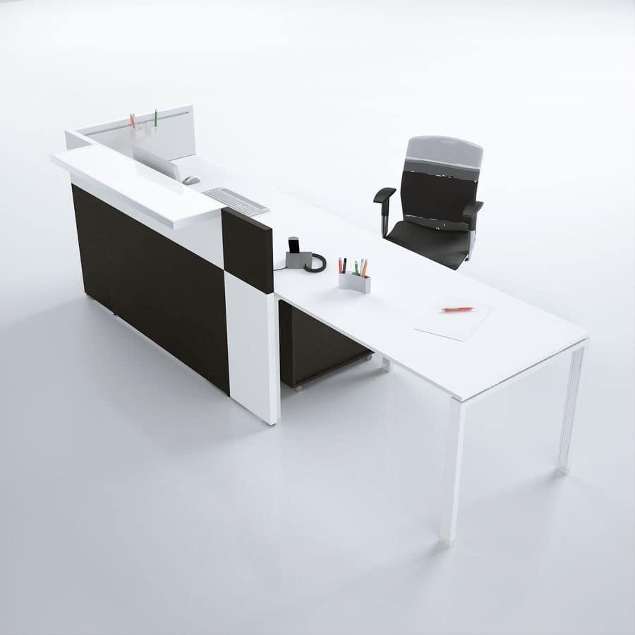home office office furniture reception desks philo comp 3