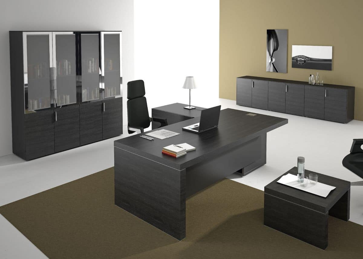Furniture for executive offices in modern style idfdesign for Arredamenti ufficio on line