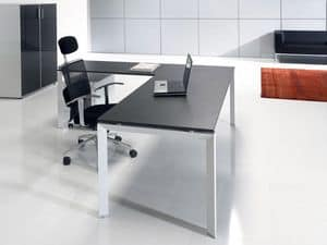 Picture of Tris, desk with dividing panel