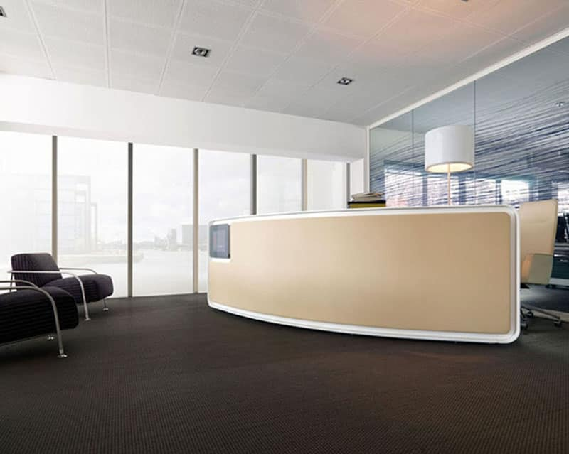 Furniture Caunter : Vega reception counter, Reception counter, clean lines, ideal for ...