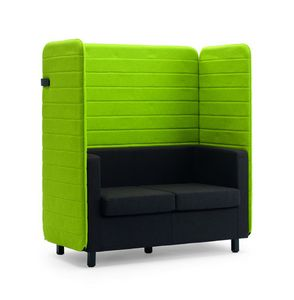 Argo 107, Sofa with high backrest for conversation area