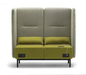 Around USB sofa, Modular sofa with electrification with USB sockets