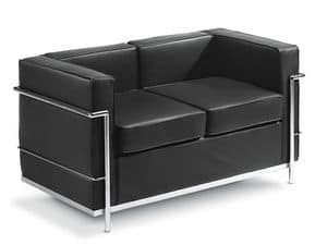 Picture of Cube 02, modern loveseat