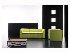 Picture of Domino element, modern loveseat