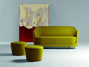 Picture of FOLIES - cod. 2207, linear loveseats