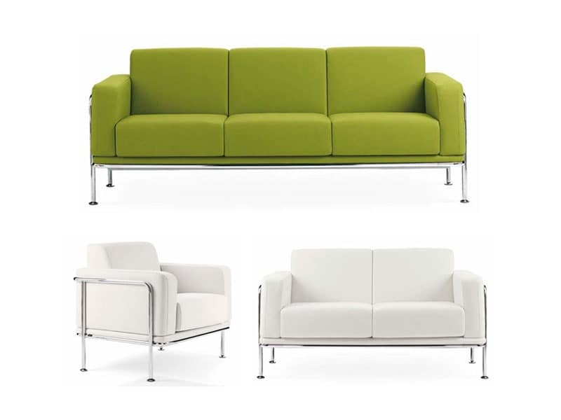 Sofas Stuffed Seats Sofas And Small Sofas For Waiting Areas Or Office Idf
