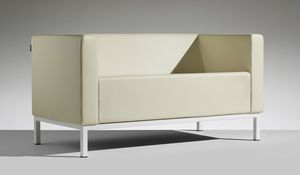 POLO 2, Design sofa for waiting rooms
