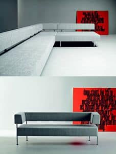 Picture of QUADRO, linear sofas