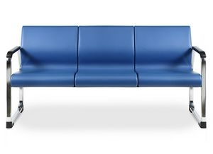 SEDOFF ONE 403 A, Sofa padded with fire retardant foam, for offices
