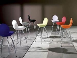 Picture of Sphera/2, barstools with modern design