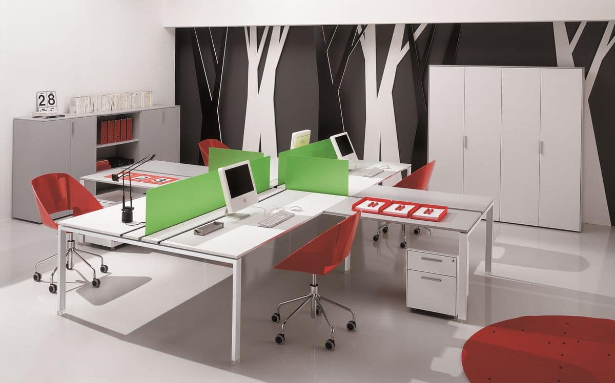Pegaso comp.2, Modular system for office furniture