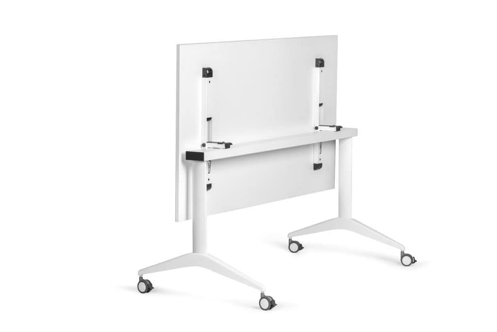 office table with wheels.  Wheels White Table With Wheels Ideal For Office Idfdesign I