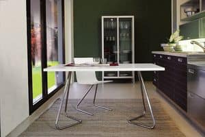 Picture of ART. 238 EASY (FIXED), table with metal structure
