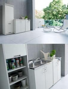 Picture of Braccio di Ferro 07, space-saving cabinets