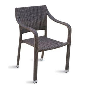 CHW49, Woven chair for gardens and outdoor bar