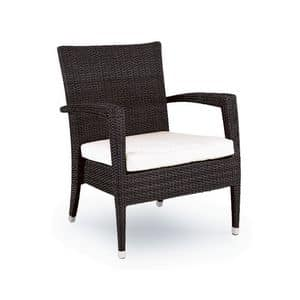 Picture of HAVANA 500 armchair, wicker armchair