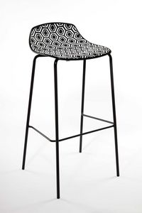 Picture of Alhambra cod. 98, metal base barstool