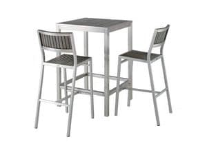 Picture of BAVARIA 669 Big stool, outdoor barstool