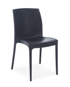 2064, Chair for restaurants and outdoor cafes, in polypropylene