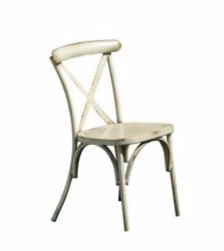 2089, Chair in galvanized sheet, in Viennese-style