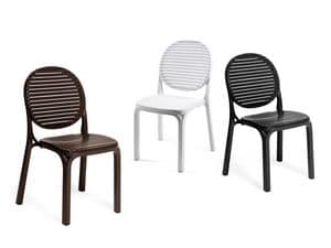 Picture of Dalia, plastic chairs