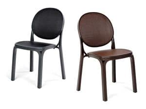 Picture of Fresia, resin chairs