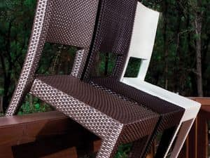 Picture of Mascagni stackable dining chair C58045, wicker chairs