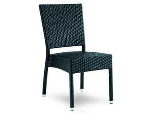 Picture of MUSICA 760/BL, cane chairs