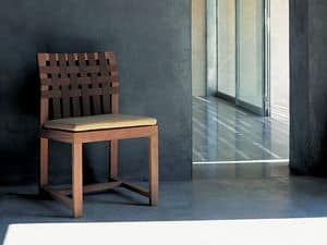 Picture of Net-Work 149 chair, chair with wooden structure
