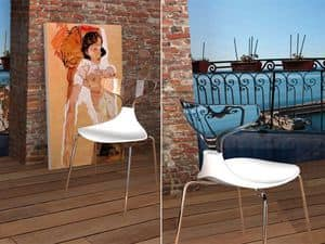 Picture of Steam Punk, all-plastic chair