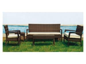 Picture of 283 - GF06682, outdoor loveseat