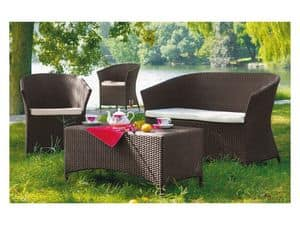 Picture of 351 - 405019, outdoor loveseats