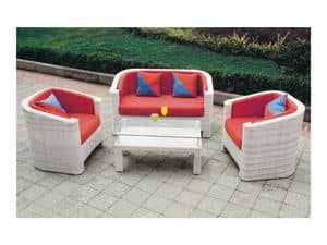 Picture of 377 - GLA-692-22, water-resistant loveseats