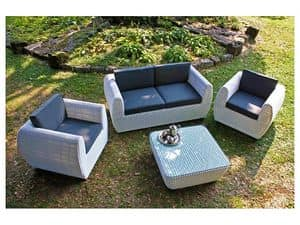 Picture of Manna F  white, water-resistant sofas