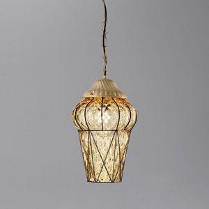 Piazza Es114-040, Outdoor suspension lamp, in Baloton crystal