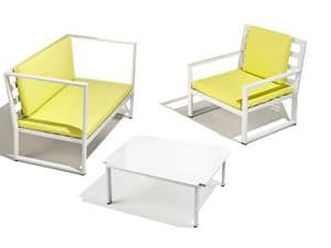 Picture of Camaleonte coffee table C57..30, weather-resistant small tables