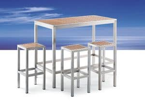 Picture of BAVARIA 874 big bar table, durable tables