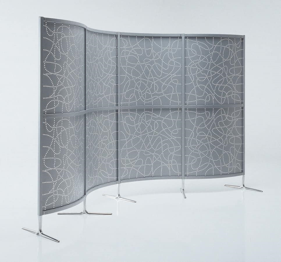 Archimede, Straight and curved modular partition for office