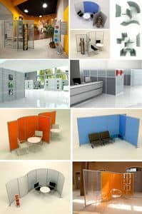 Picture of Hoto, office dividing panels