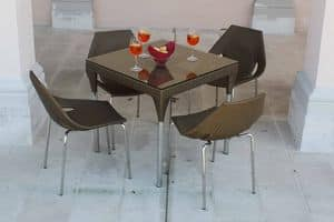Picture of Ginger set, combinations of seats and table for outdoors