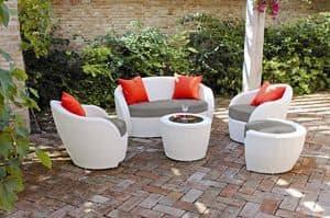 Picture of LOTUS LOUNGE, combinations of seats and table for outdoors