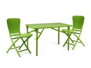 Picture of Set Zic Zac Classic, coordinated furniture for outdoors