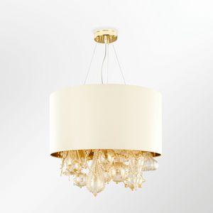 Absolute-Acqua SSP3601-65-KV, Suspension lamp with cotton shade
