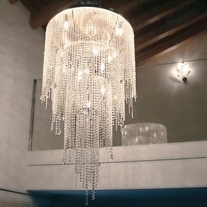 Circus SS4065-80�135-N1, Pendant chandelier with long crystal pendants