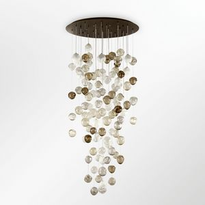 Desafinado PL7540-100�260-1, Ceiling lights with multicolored glass spheres
