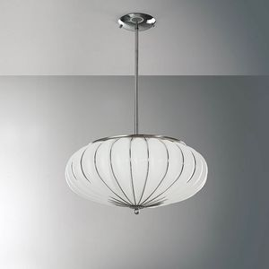 Giove Rs121-014, Suspension lamp in glass in various colors