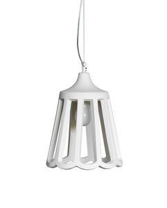 Le Pupette SE131 2B INT, Elegant chandelier made of  natural ceramic